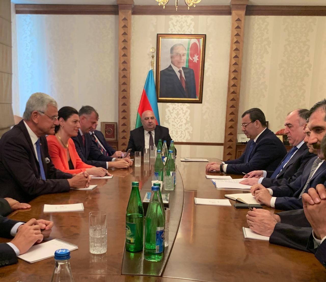 Elmar Mammadyarov: with resolution of conflict, Armenian people may benefit from projects implemented by Azerbaijan (PHOTO)