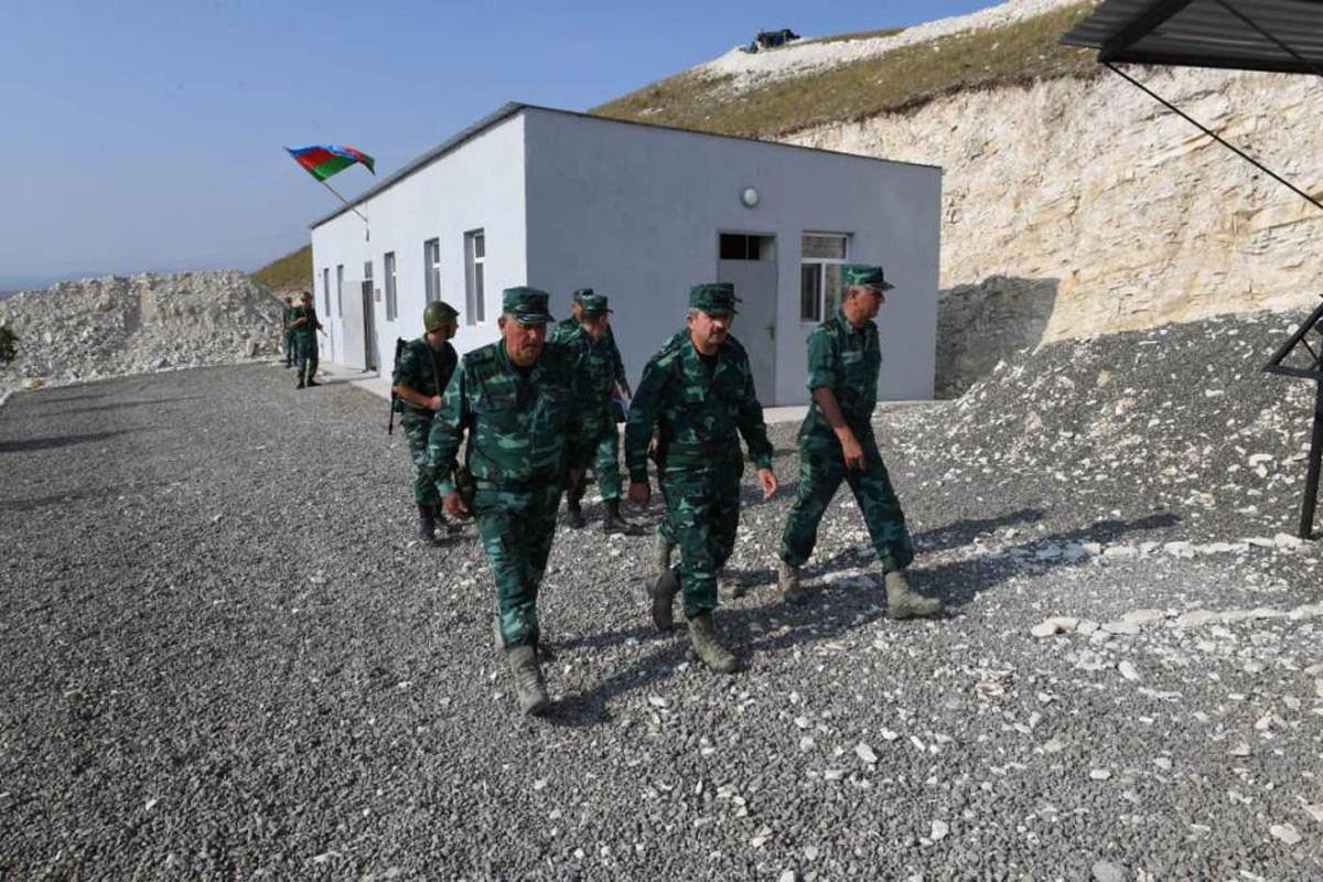 Azerbaijani border guard wounded due to cease-fire violation (PHOTO)