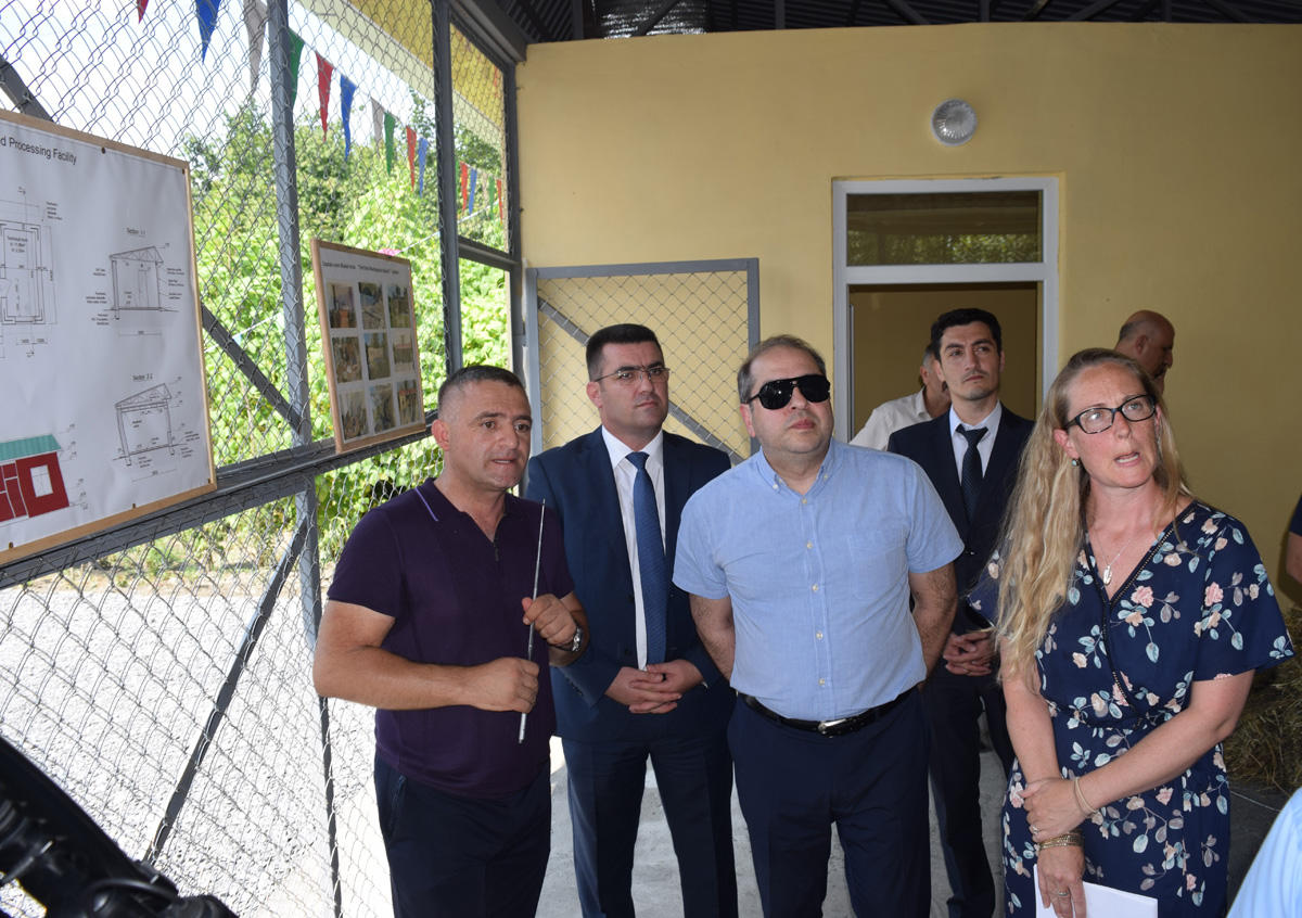 Feed production plant commissioned in Azerbaijan's Zagatala District (PHOTO)