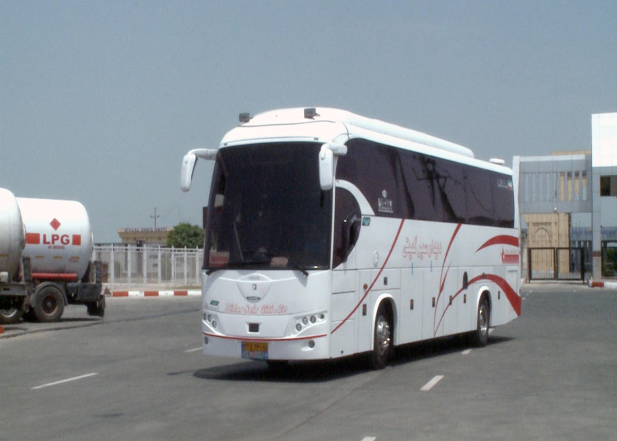 Buses running along Baku-Nakhchivan-Baku route to pass Iranian customs without checks