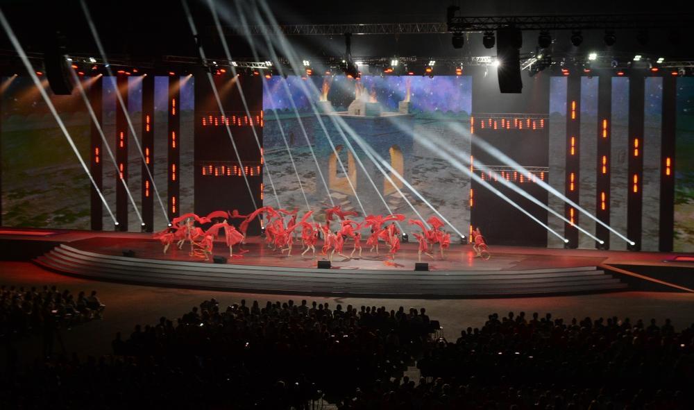 Вице-президент Фонда Гейдара Алиева Лейла Алиева приняла участие в церемонии закрытия XV Летнего европейского юношеского олимпийского фестиваля (ФОТО/ВИДЕО)