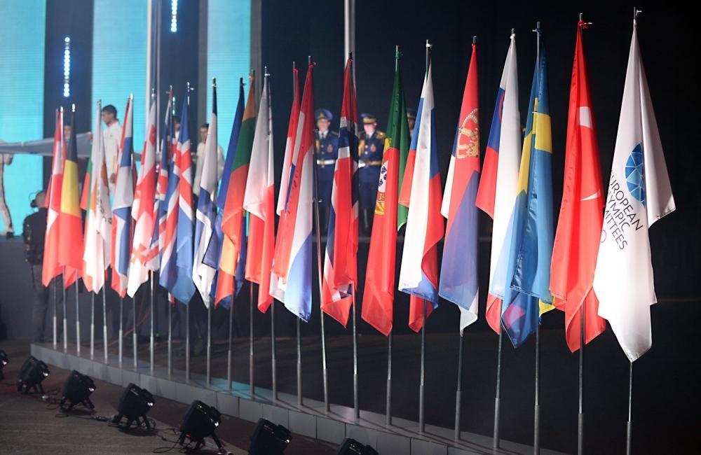 Heydar Aliyev Foundation VP Leyla Aliyeva attends closing ceremony of XV Summer European Youth Olympic Festival (PHOTO/VIDEO)