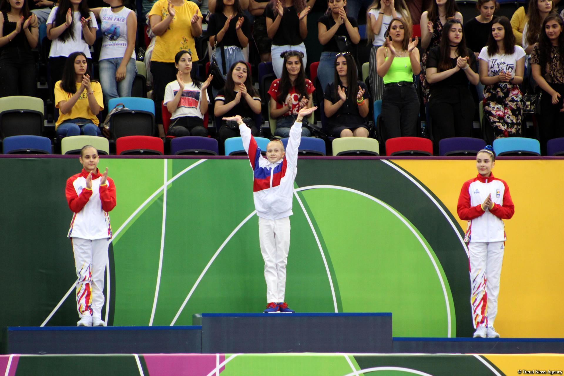 EYOF  Baku 2019: Лучшие моменты заключительного дня соревнований по спортивной гимнастике (ФОТО)