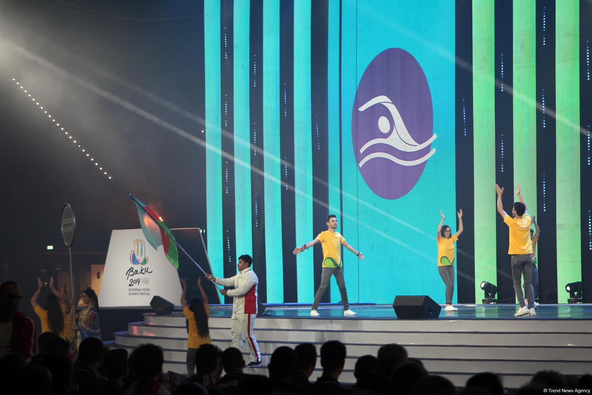 Awesome closing ceremony of XV Summer European Youth Olympic Festival in Baku (PHOTO)