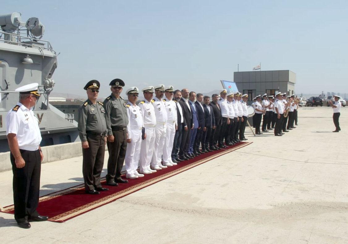 Iran's missile boats arrive in Baku (PHOTO/VIDEO)