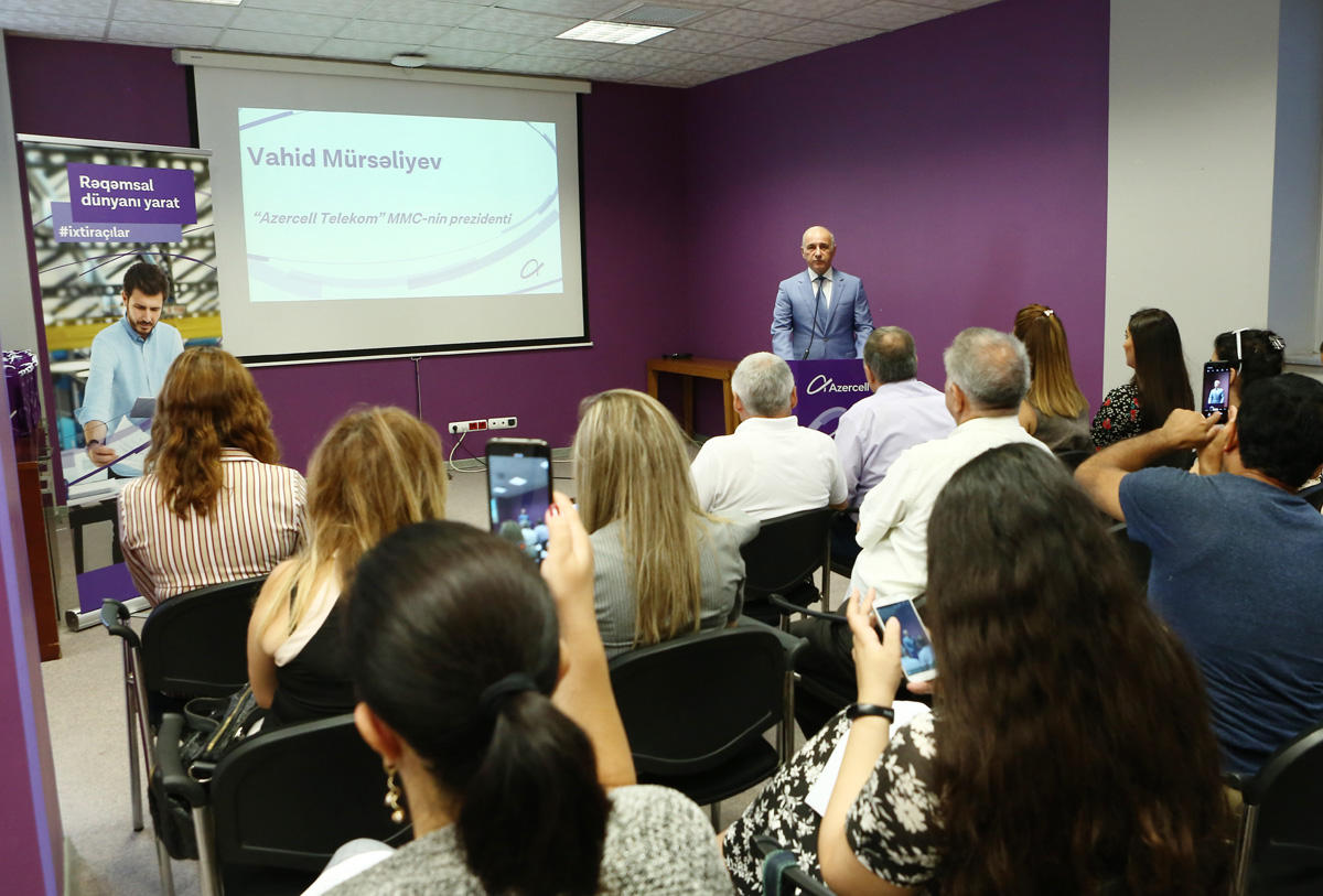 """Azerbaijan's Azercell continues to implement """"Digital world in districts"""" project (PHOTO)"""