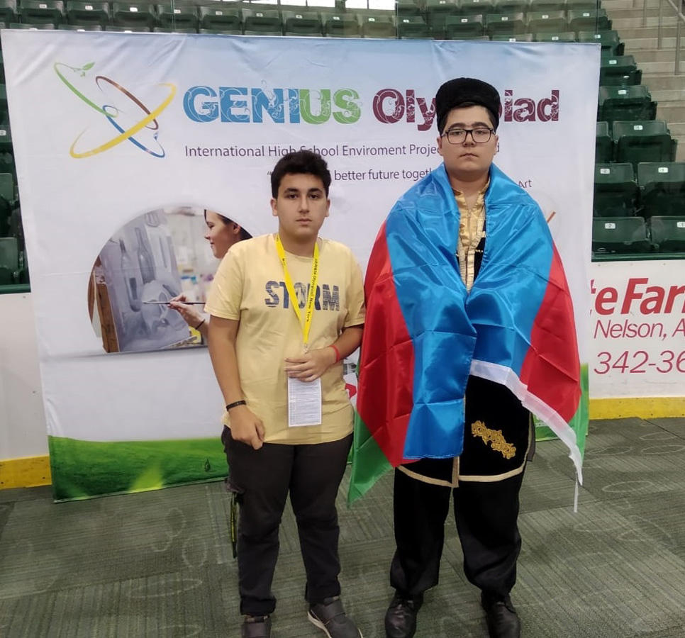 Bakcell supports US trip of young inventors (FOTO)
