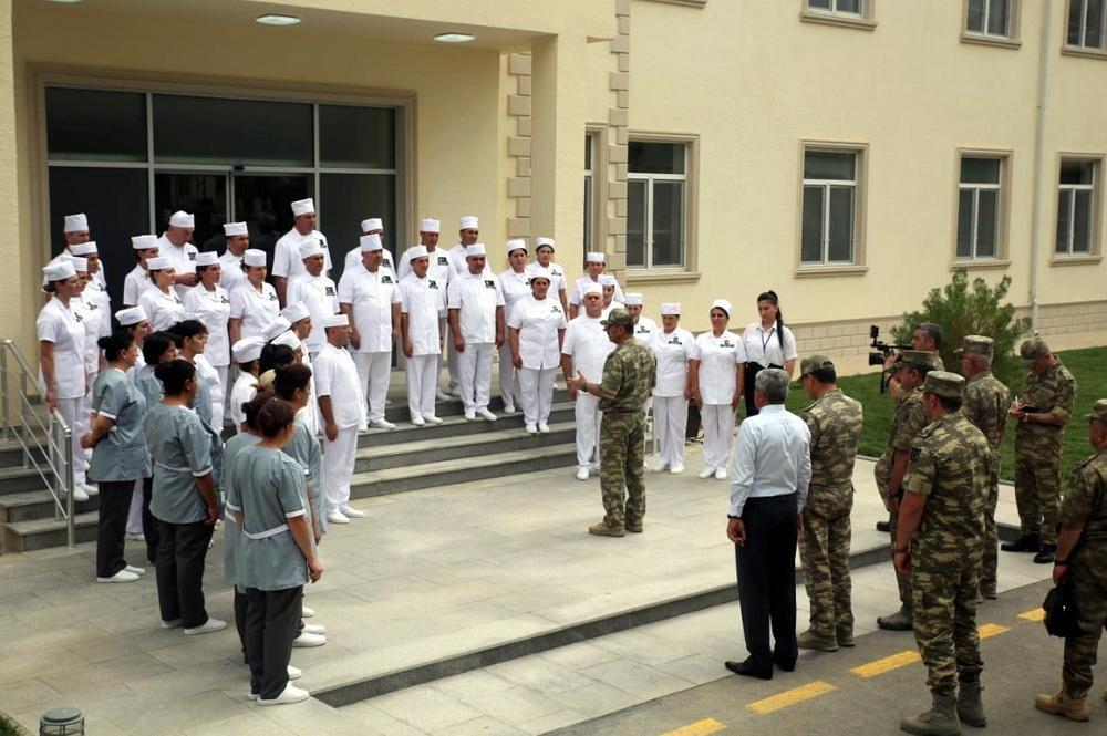 Azerbaijan opens new military hospital in frontline zone (PHOTO)