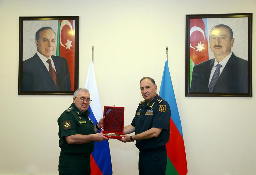 Delegation of Russian Defense Ministry on working visit in Azerbaijan (PHOTO)