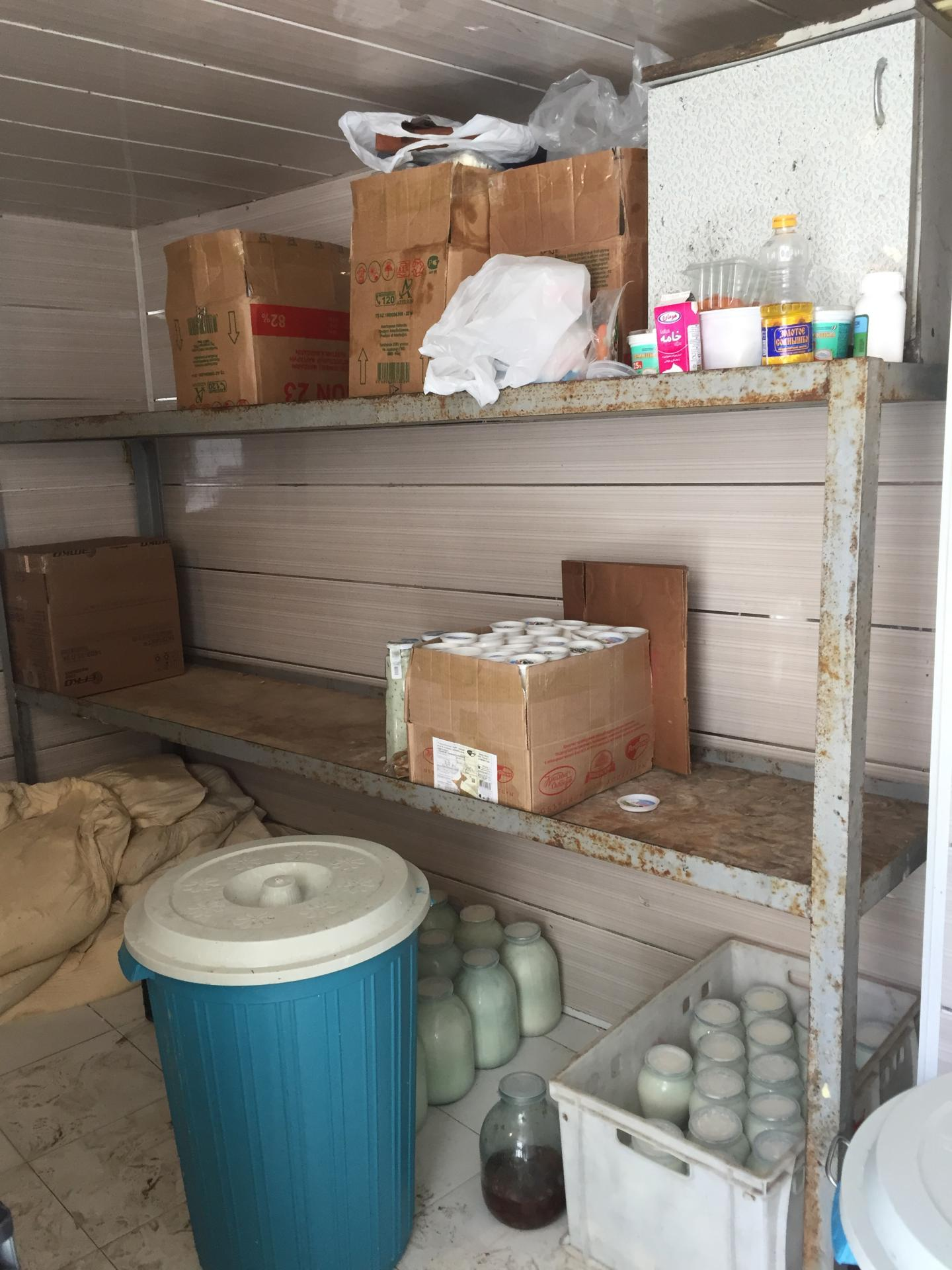 В Сабунчинском районе приостановлена работа цеха по производству молочной продукции (ФОТО)