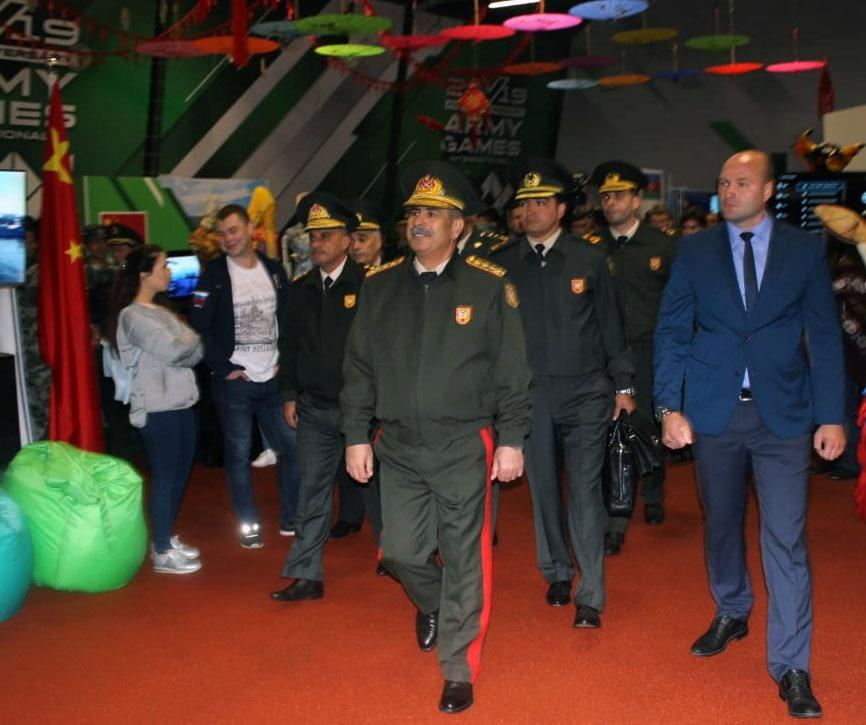 Azerbaijan's Defense Minister attends closing ceremony of International Army Games-2019 (PHOTO)
