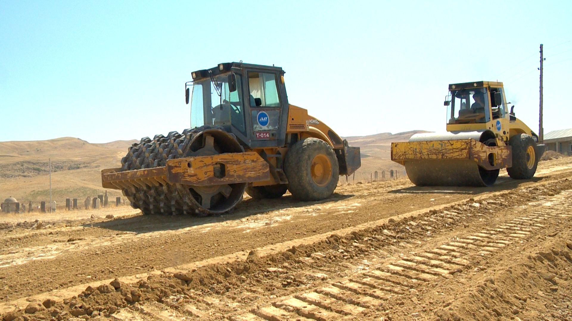 Large-scale highway reconstruction underway in Azerbaijan (PHOTO)