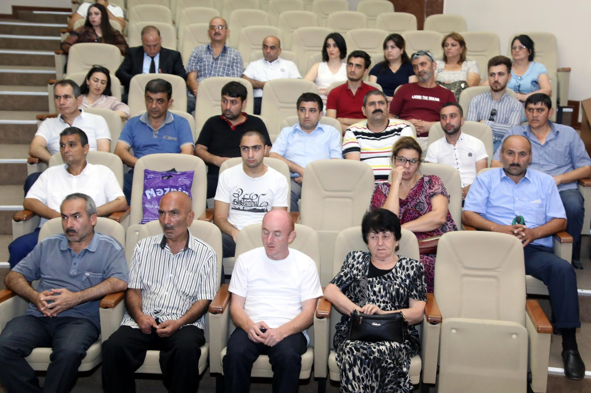 Work on support for self-employment of disabled people presented in Azerbaijan (PHOTO)