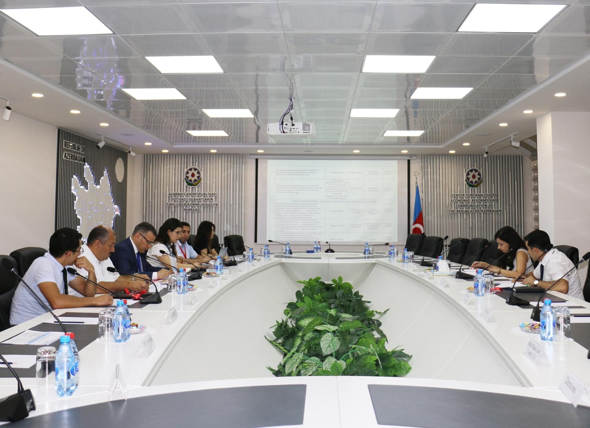 Ways to further facilitate starting business discussed in Azerbaijan (PHOTO)