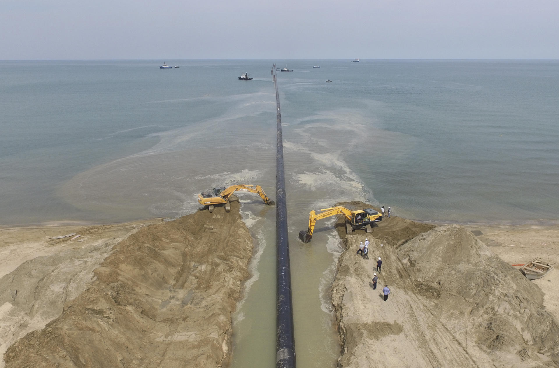 Construction of modern wastewater treatment plant nearing completion in Azerbaijan (PHOTO)