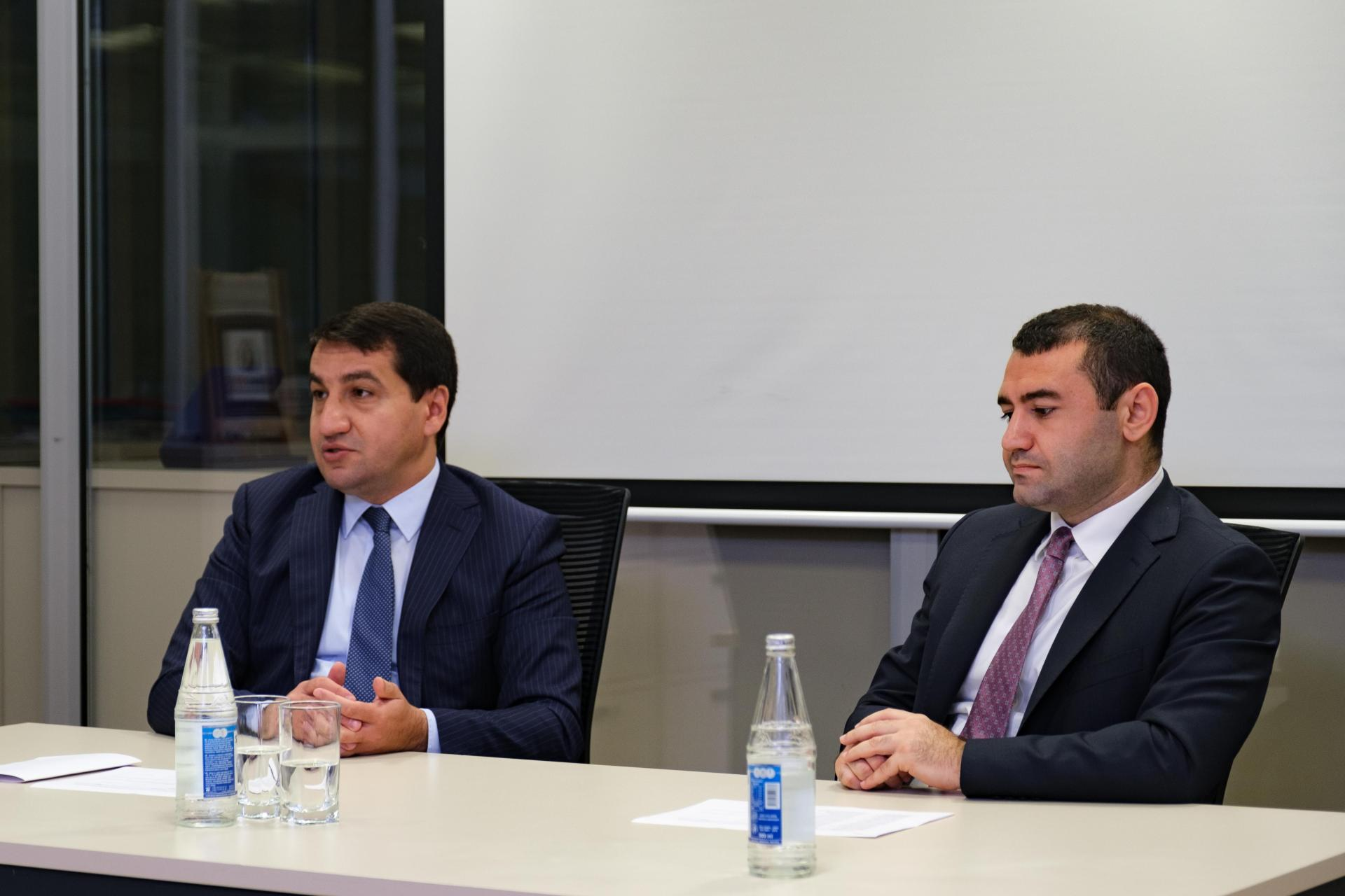 Hikmat Hajiyev: Azerbaijan doesn't allow anyone to interfere in its internal affairs (PHOTO)