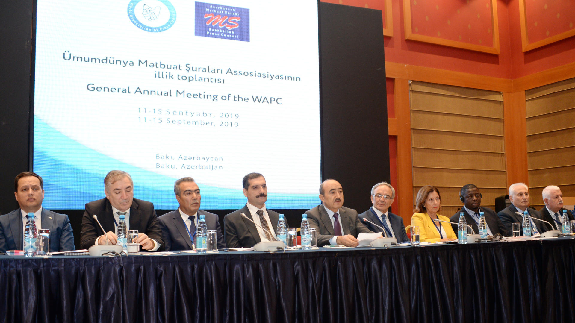 Annual meeting of World Association of Press Councils starts in Baku (PHOTO)