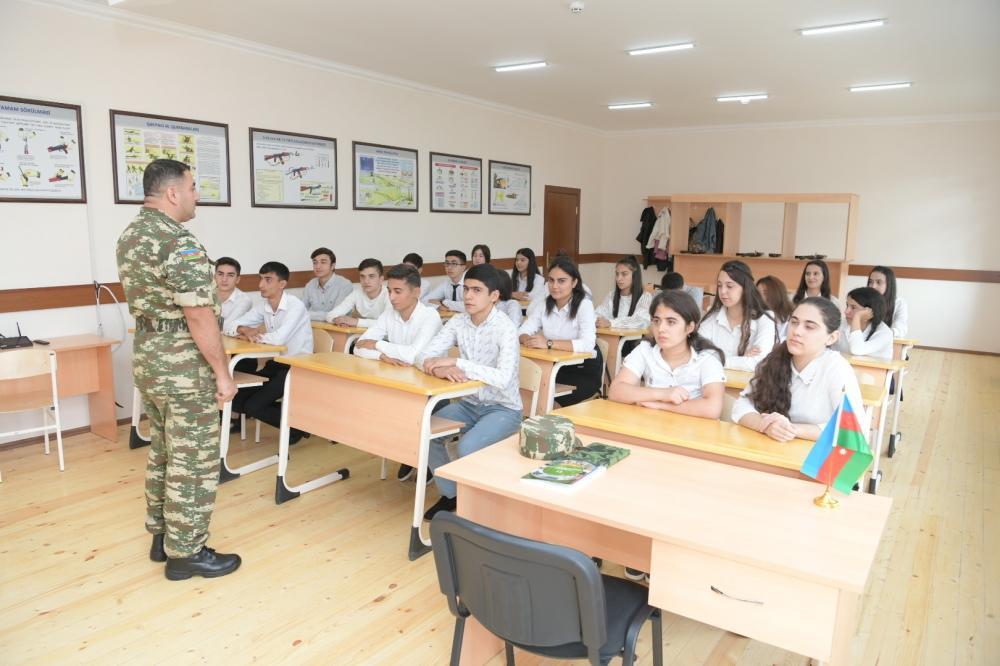 В Гяндже сданы в эксплуатацию построенные и отремонтированные Фондом Гейдара Алиева новые школы и детский сад (ФОТО)