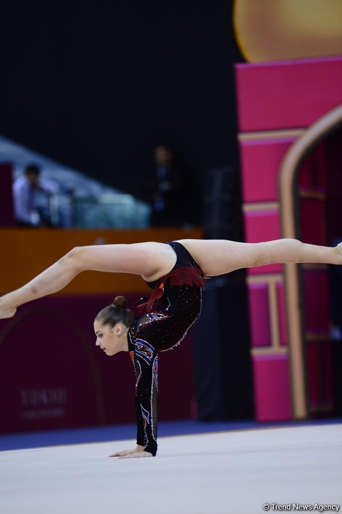 В Баку стартовал 37-й Чемпионат мира по художественной гимнастике (ФОТО)