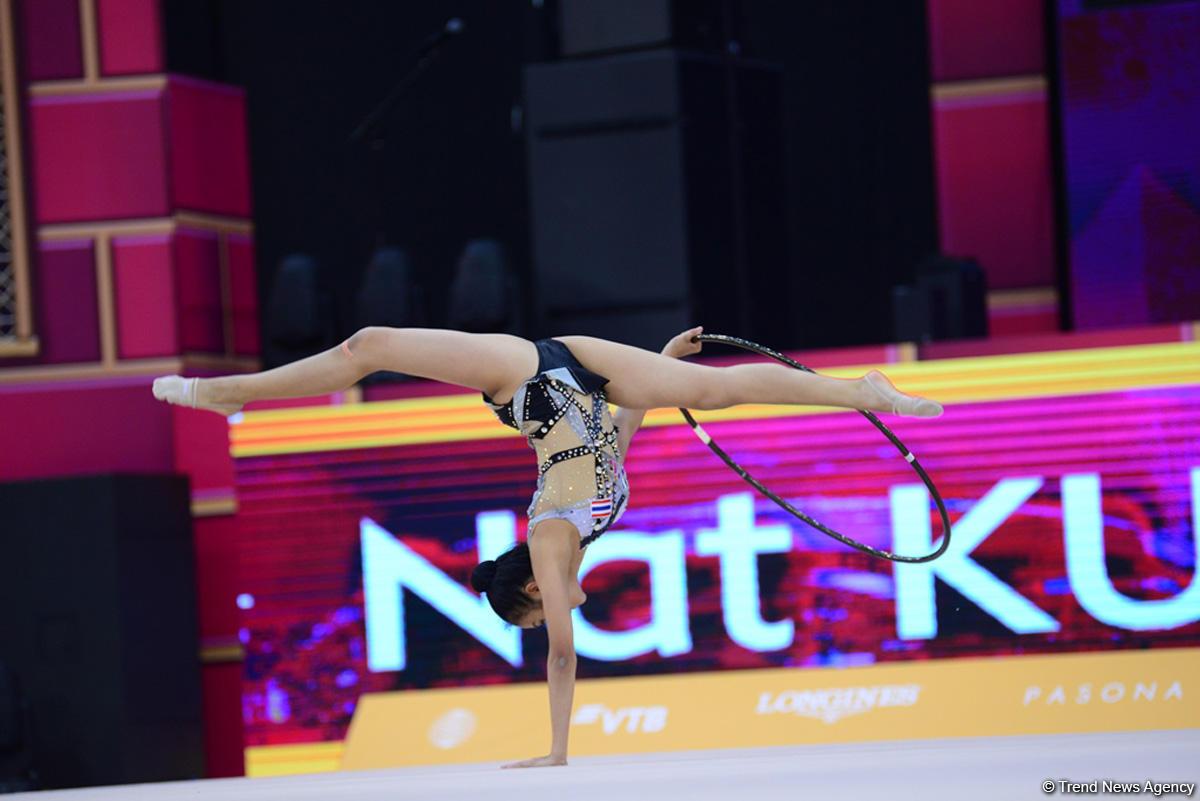 В Национальной арене гимнастики продолжаются соревнования Чемпионата мира (ФОТО)