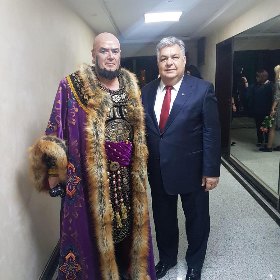 Belarusun Böyük Teatrında 87-ci teatr mövsümünün açılışı olub (FOTO)