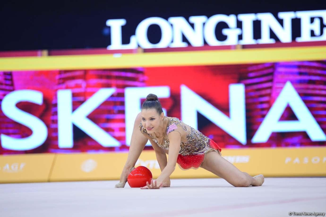 Finals of 37th Rhythmic Gymnastics World Championships kick off in Baku (PHOTO)