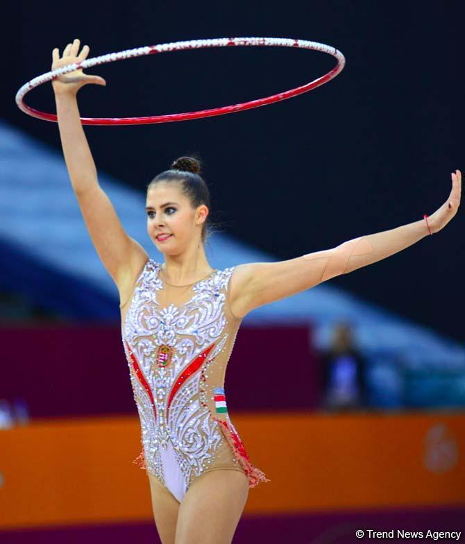 Лучшие моменты второго дня Чемпионата мира по художественной гимнастике в Баку (ФОТО)