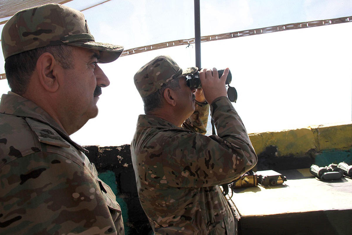 Area reconnaissance conducted during Azerbaijani army's exercises (PHOTO/VIDEO)
