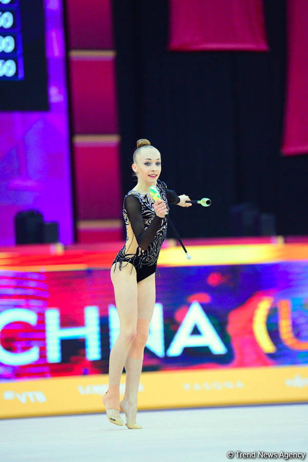 Best moments of Day 3 in 37th Rhythmic Gymnastics World Championships in Baku (PHOTO)
