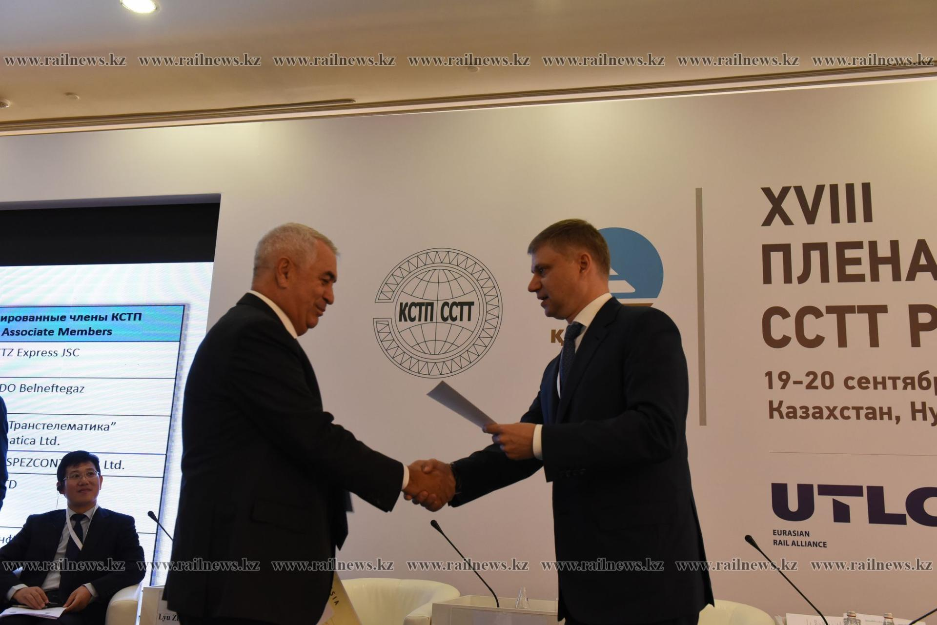 Azerbaijan Railways company admitted to Coordinating Council on Trans-Siberian Transportation (PHOTO)
