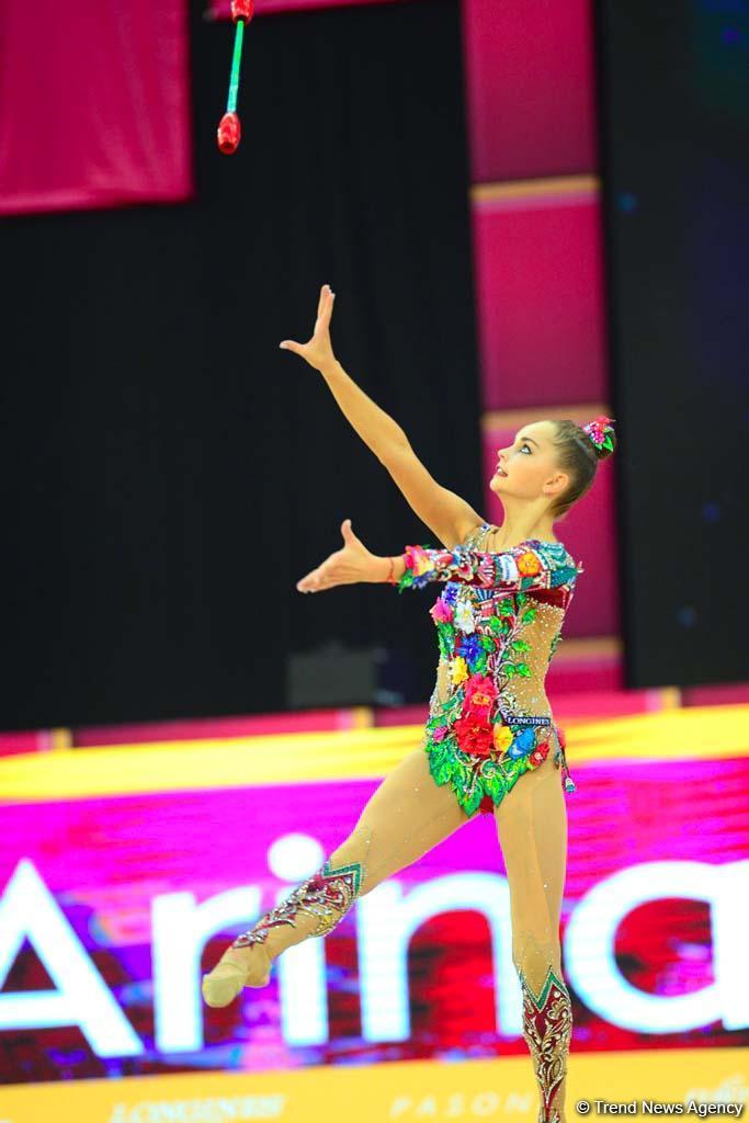 Finals of 37th Rhythmic Gymnastics World Championships kick off in Baku (PHOTO)