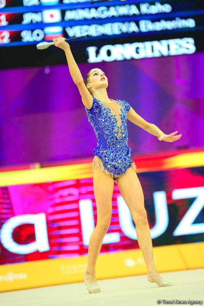 World Championships competitions continue in National Gymnastics Arena in Baku (PHOTO)