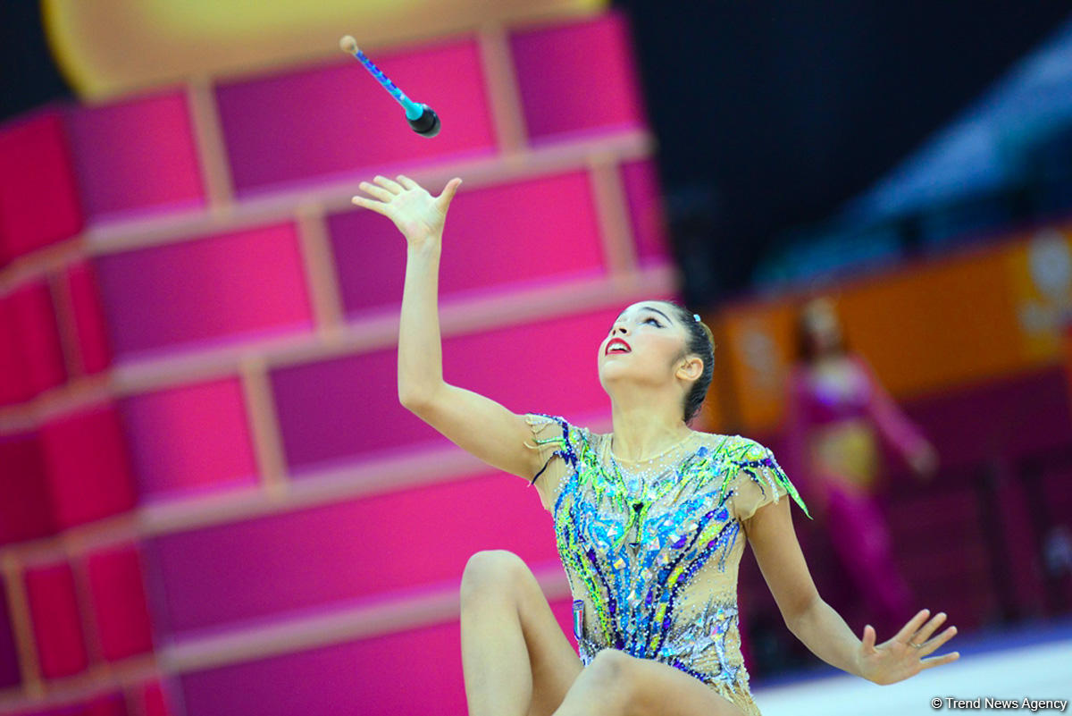 Day 4 of competitions in 37th Rhythmic Gymnastics World Championships underway in Baku (PHOTO)