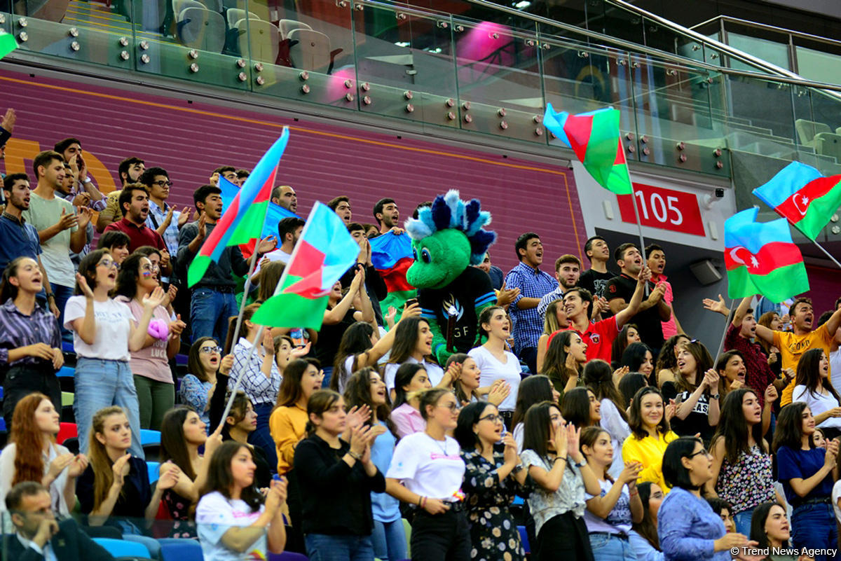 Smiles, joy and delight at 37th Rhythmic Gymnastics World Championships in Baku (PHOTO)
