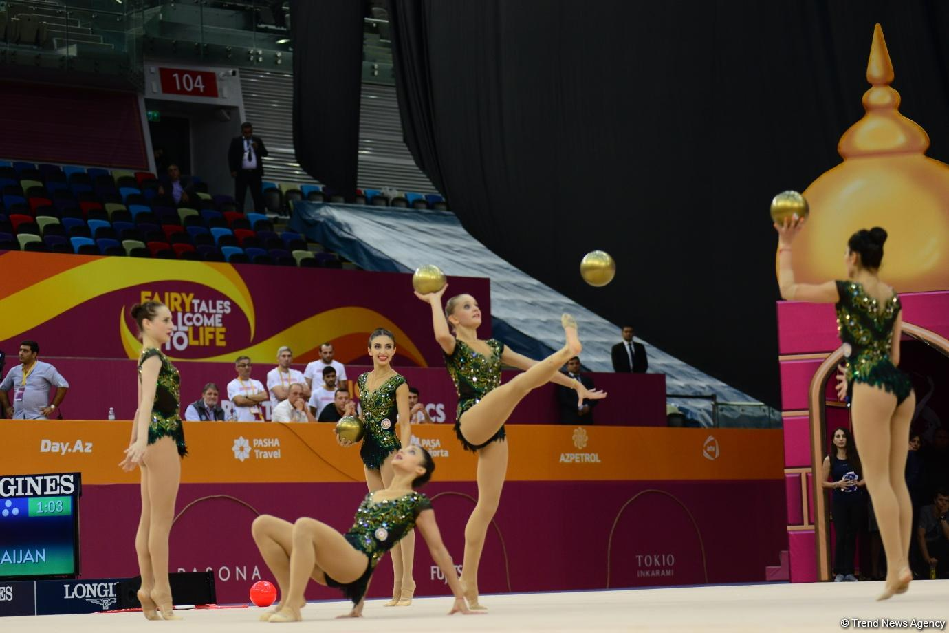 Azerbaijani team gets license for Tokyo 2020 in group exercises (PHOTO)