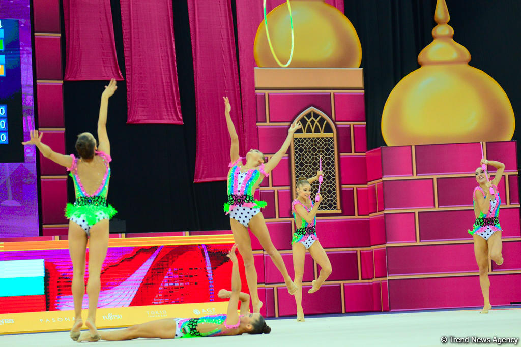 Day 6 of competitions in 37th Rhythmic Gymnastics World Championships kicks off in Baku (PHOTO)