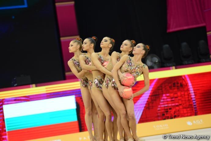 В Национальной арене гимнастики стартовал заключительный день соревнований Чемпионата мира (ФОТО)
