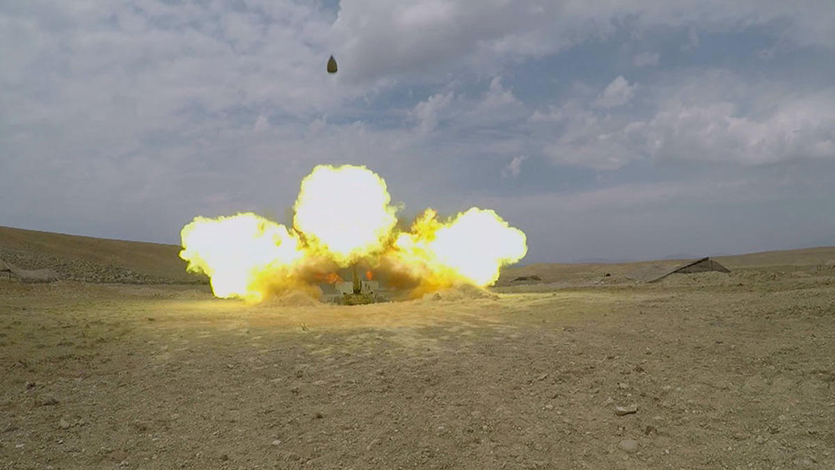 Tactical exercises conducted in Azerbaijan's Nakhchivan (PHOTO) (VIDEO)