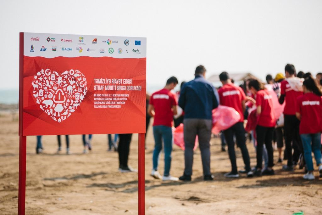 """Protect the Caspian Sea"" mass environmental campaign held in Baku (PHOTO)"