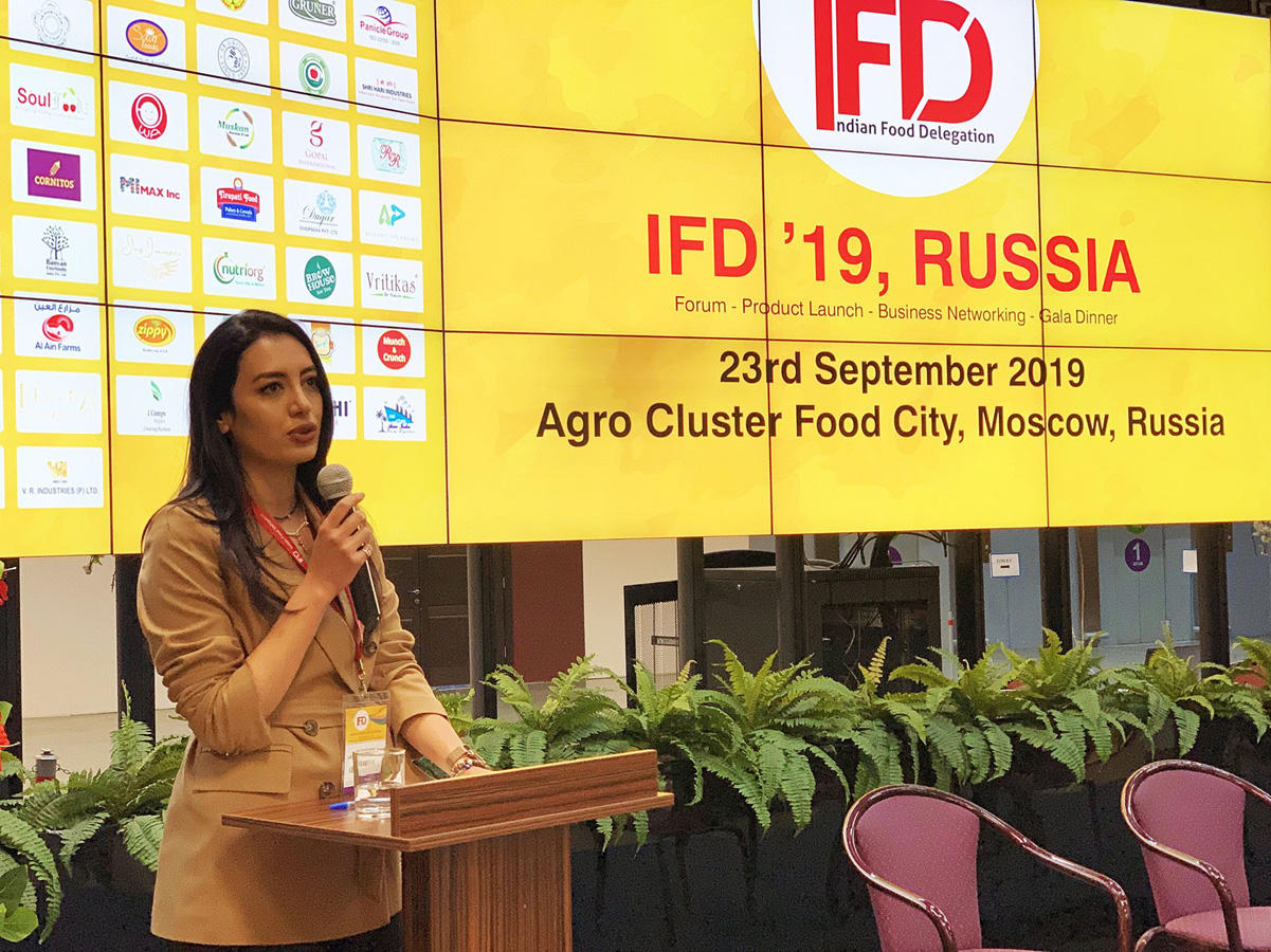 Azerbaijan takes part in forum of Indian food producers (PHOTO)
