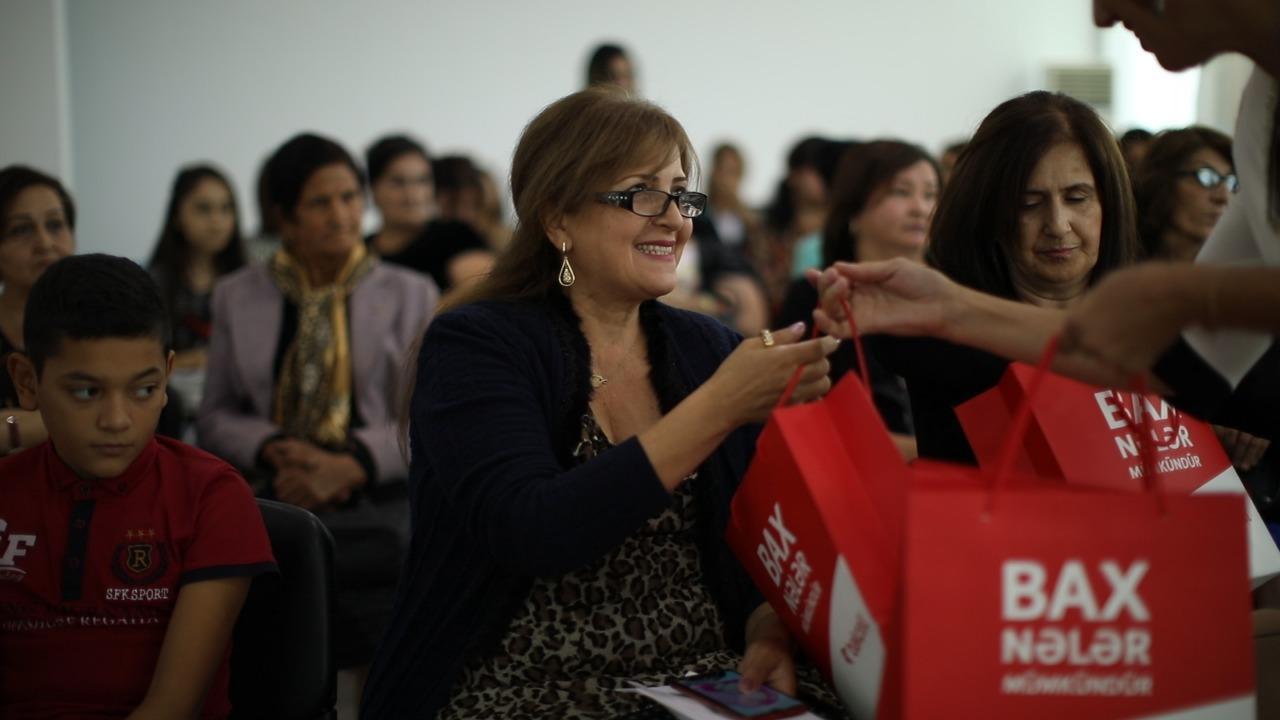 Bakcell qadınların məşğulluğunun artırılmasına dəstək olur (FOTO)