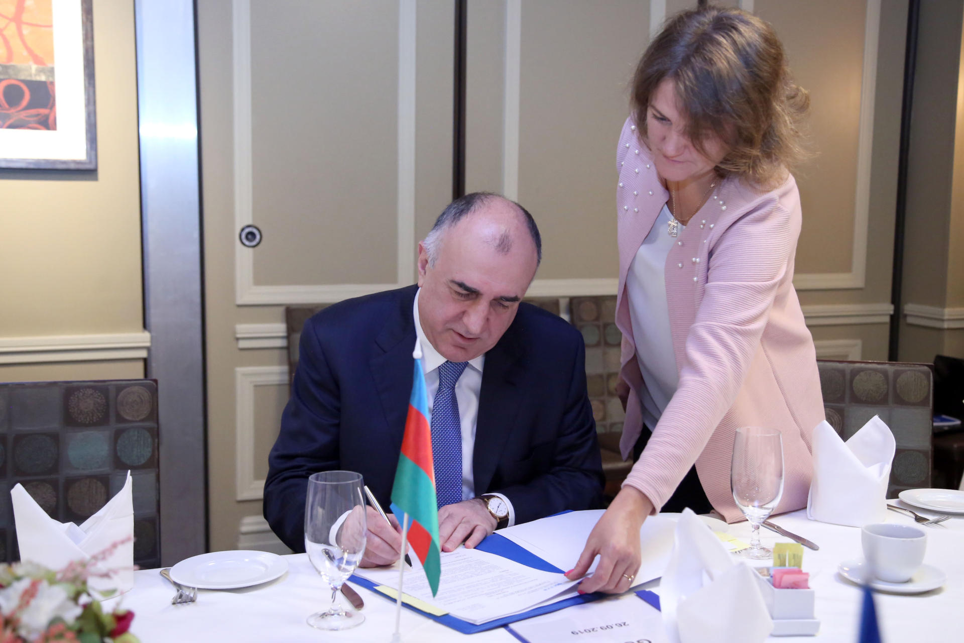 Elmar Mammadyarov attended a meeting of GUAM foreign ministers(PHOTO)