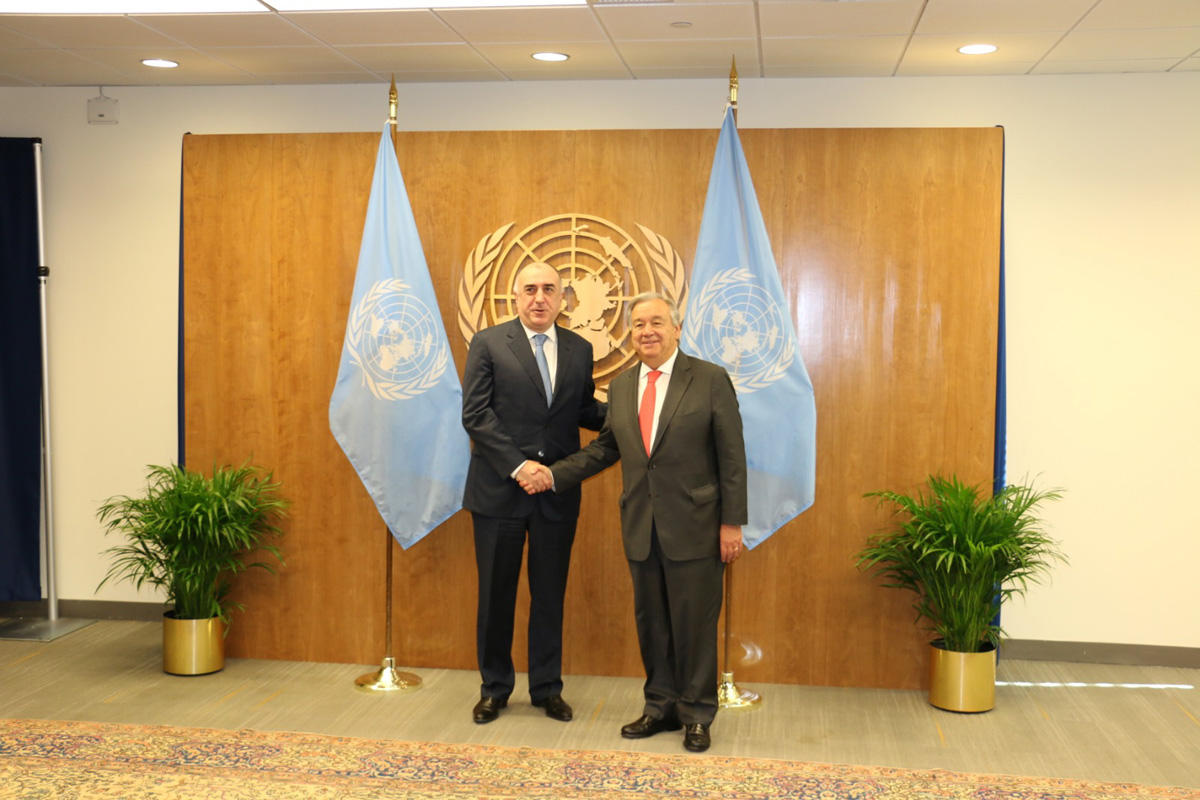 Guterres: UN is ready to contribute development of peace process in Nagorno-Karabakh conflict (PHOTO)