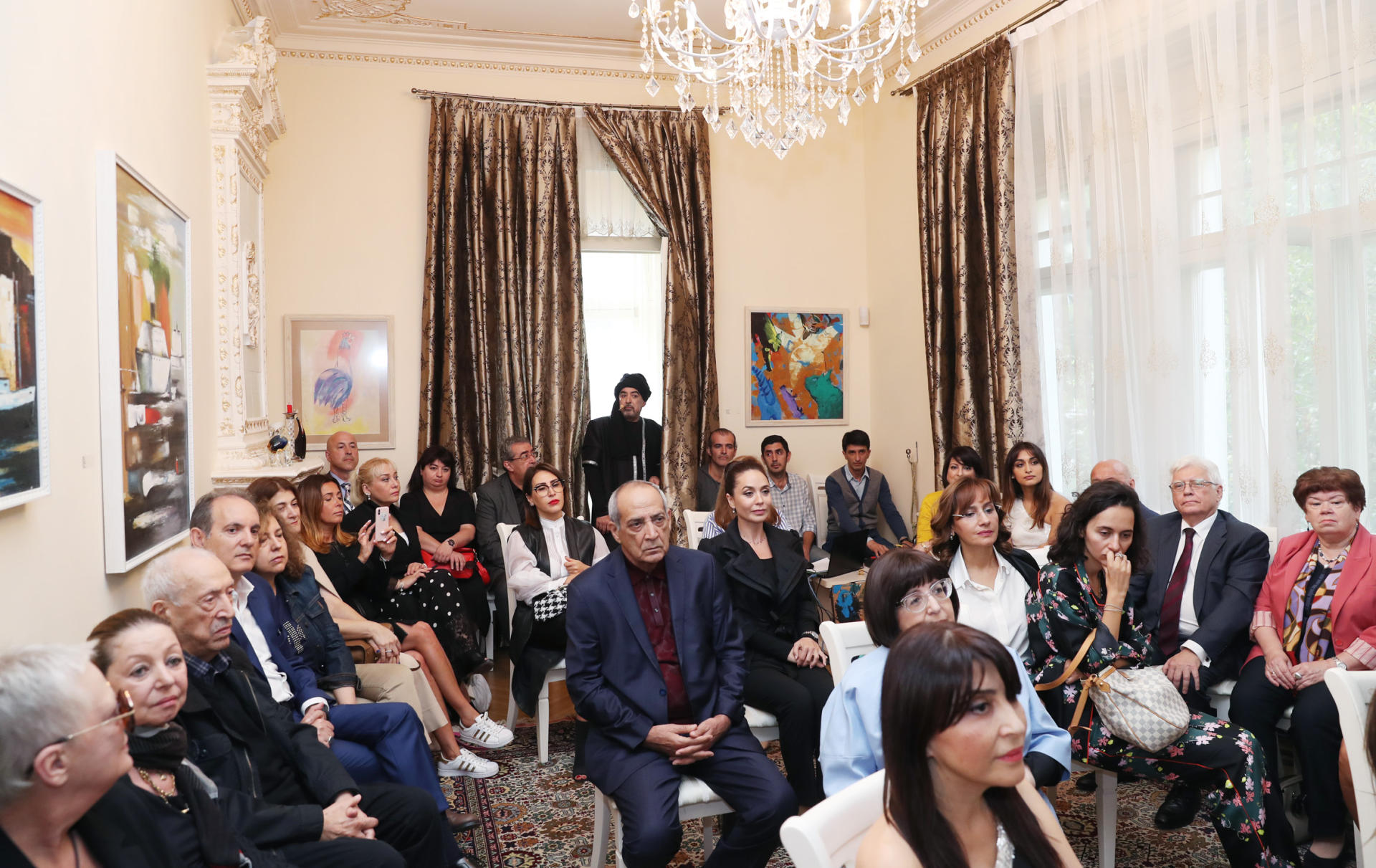 "VP of Heydar Aliyev Foundation Leyla Aliyeva attends presentation of ""Leyla. Fons Vitae"" poetry performance (PHOTO)"