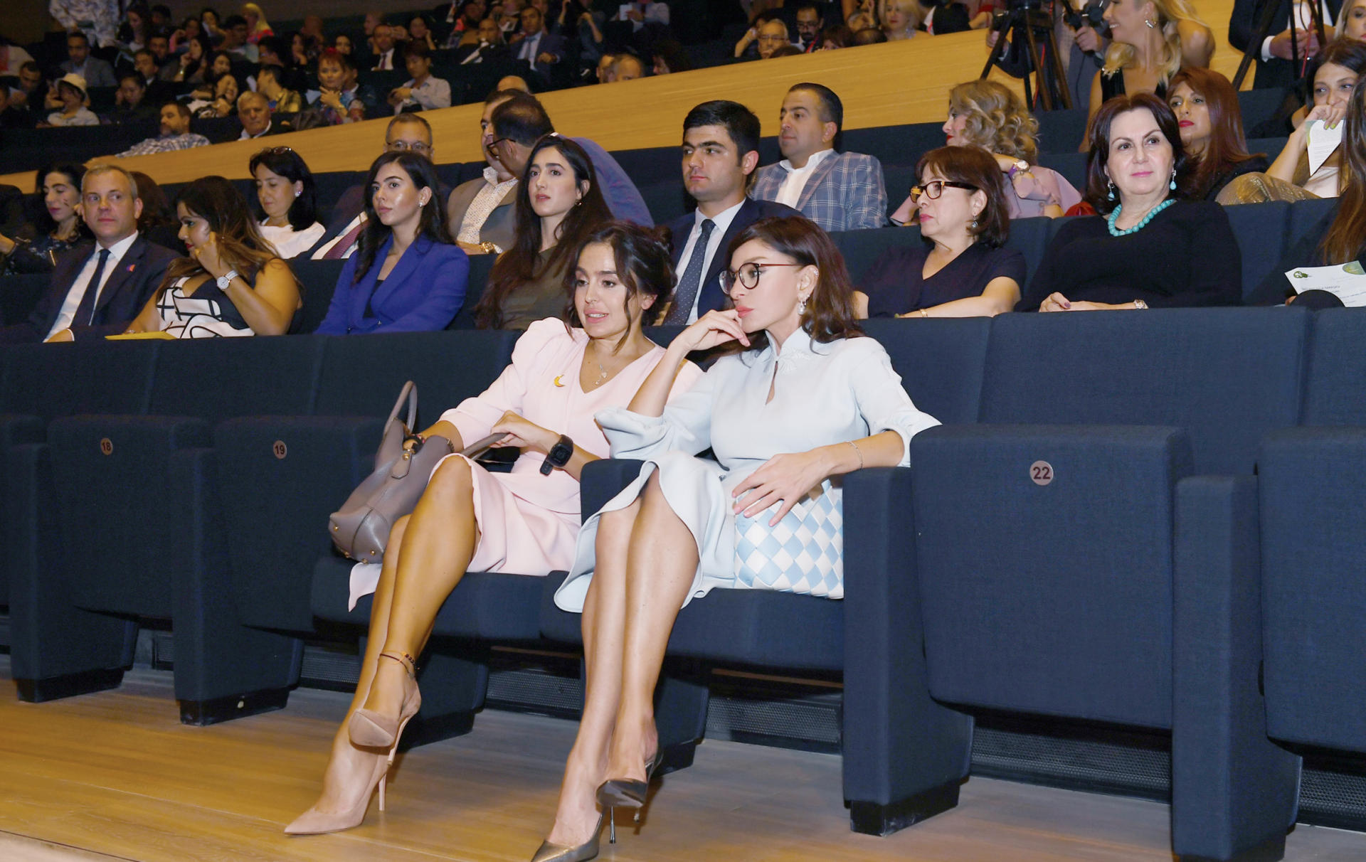 Azerbaijani First VP Mehriban Aliyeva attends closing ceremony of second Nasimi Festival of Poetry, Arts and Spirituality (PHOTO)