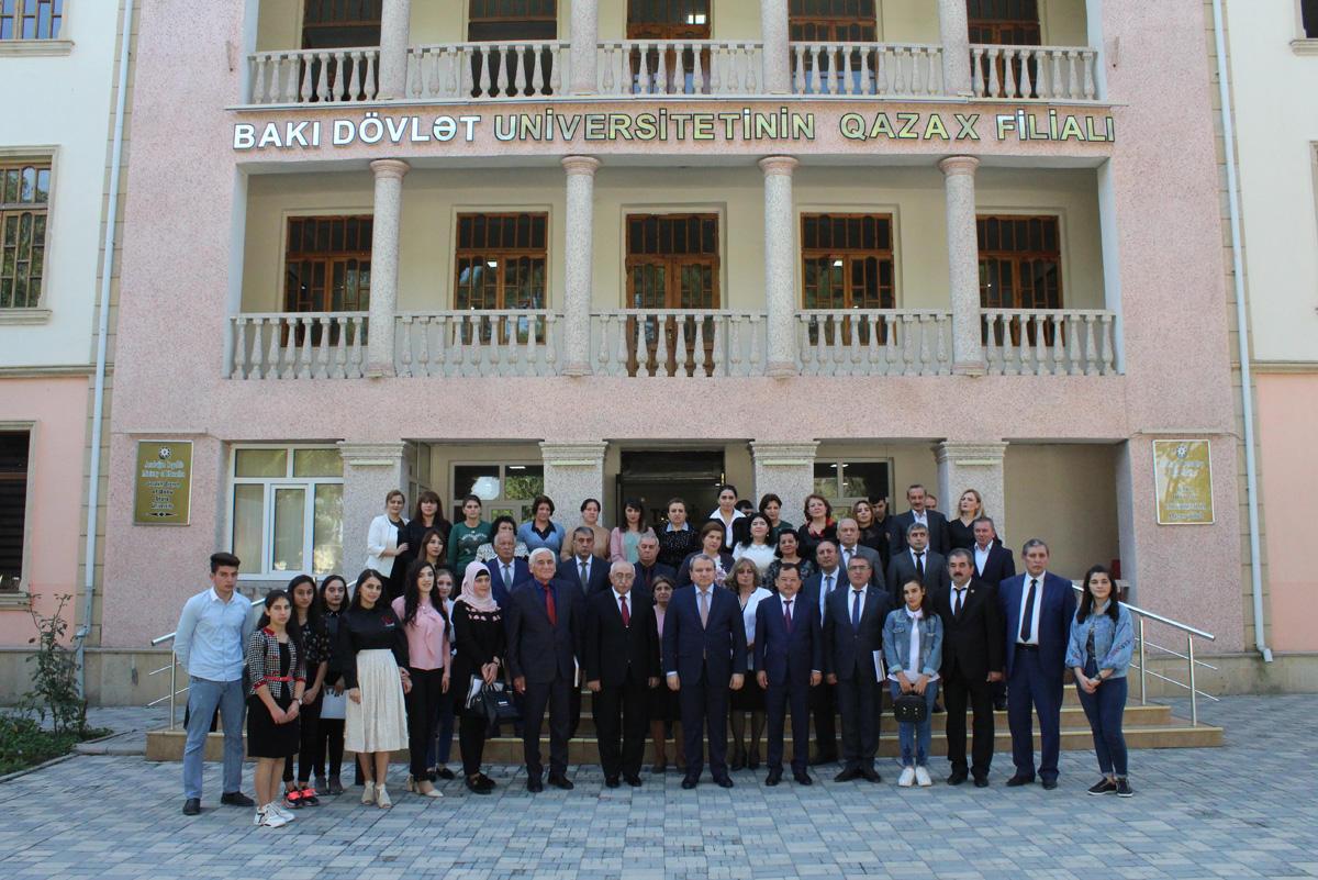 BDU-nun 100 illik yubileyi Qazax filialında qeyd edilib (FOTO)