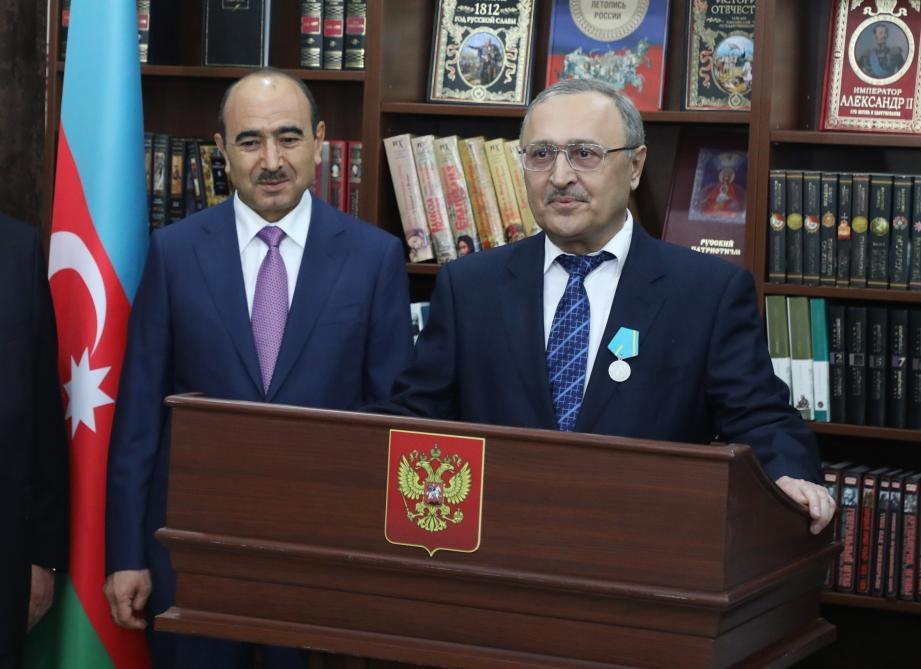 В Баку отмечается 10-летний юбилей открытия Дома русской книги (ФОТО)