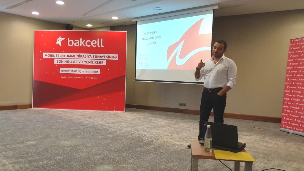 Bakcell introduces journalists to latest solutions, technologies in mobile telecommunications (VIDEO)