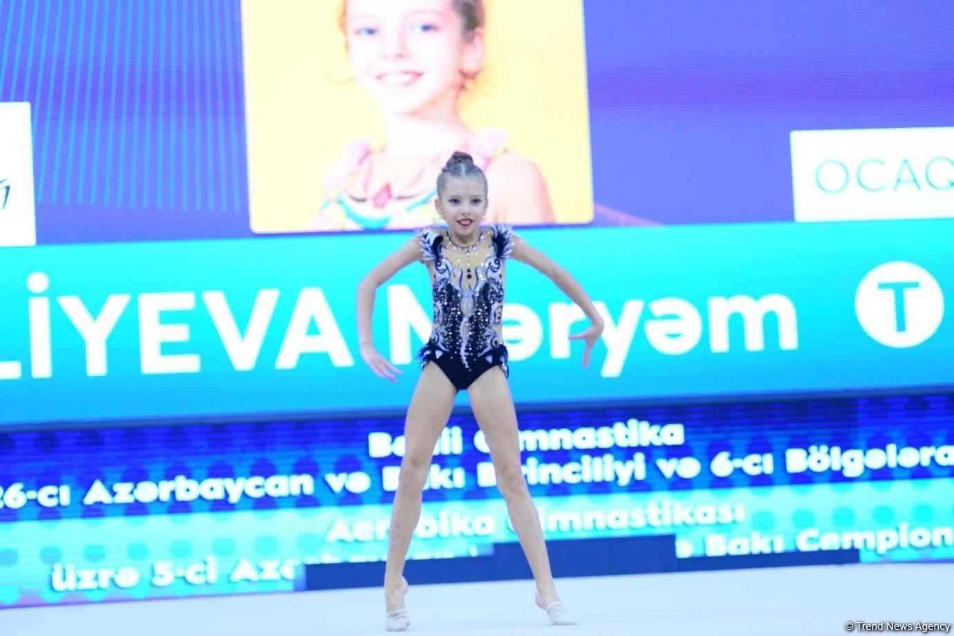 1st day of competitions of 5th Azerbaijan and Baku Championships in Aerobic Gymnastics kicks off (PHOTO)