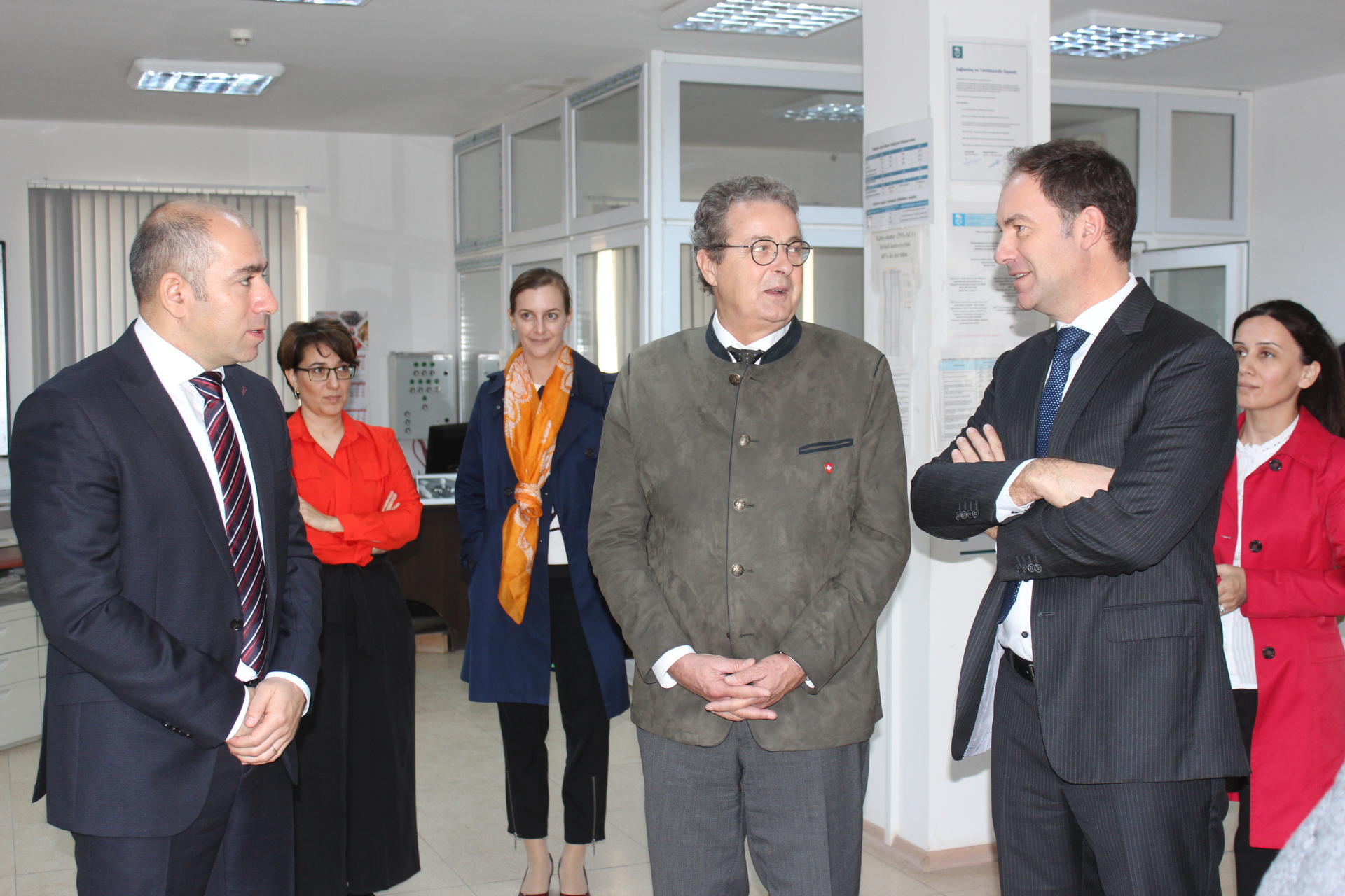 President of Swiss Council of States visits Holcim Azerbaijan cement plant (PHOTO)